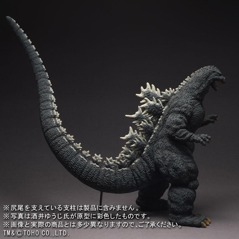 東宝30cmシリーズ 酒井ゆうじ造形コレクション ゴジラ(1991)新宿バージョン 完成品フィギュア-004