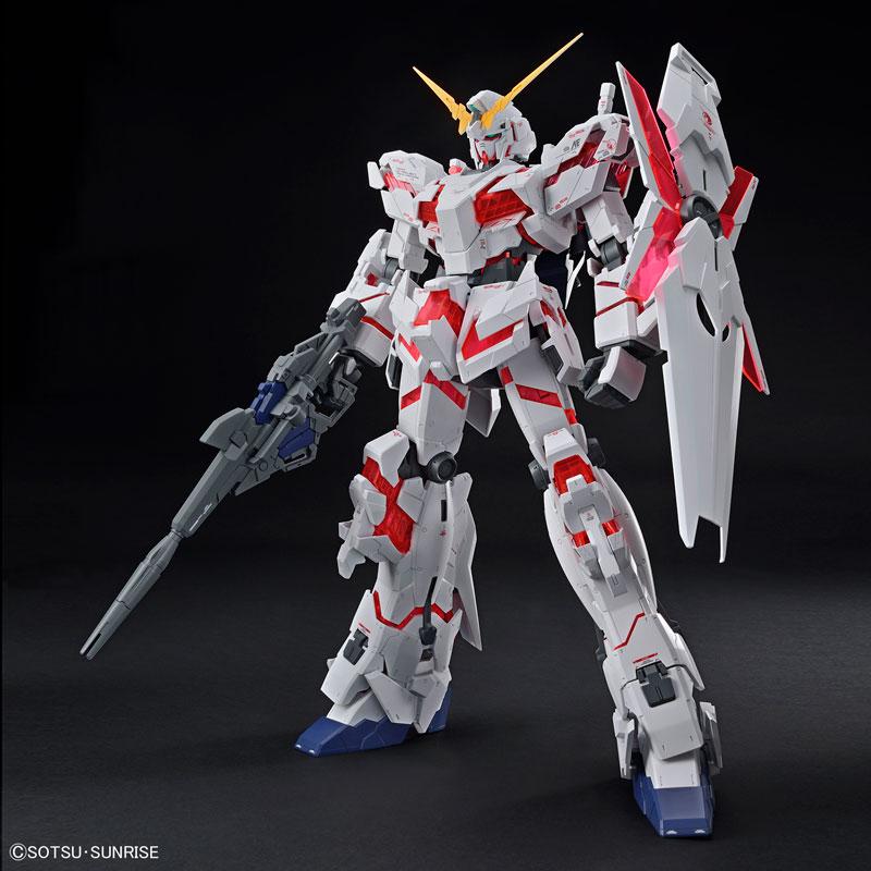 メガサイズモデル 1/48 ユニコーンガンダム(デストロイモード) プラモデル 『機動戦士ガンダムUC』-001