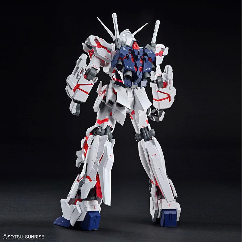 メガサイズモデル 1/48 ユニコーンガンダム(デストロイモード) プラモデル 『機動戦士ガンダムUC』-008