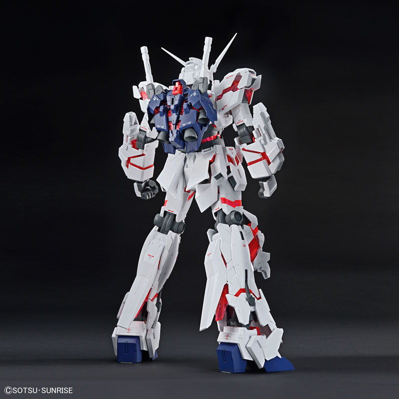 メガサイズモデル 1/48 ユニコーンガンダム(デストロイモード) プラモデル 『機動戦士ガンダムUC』-009