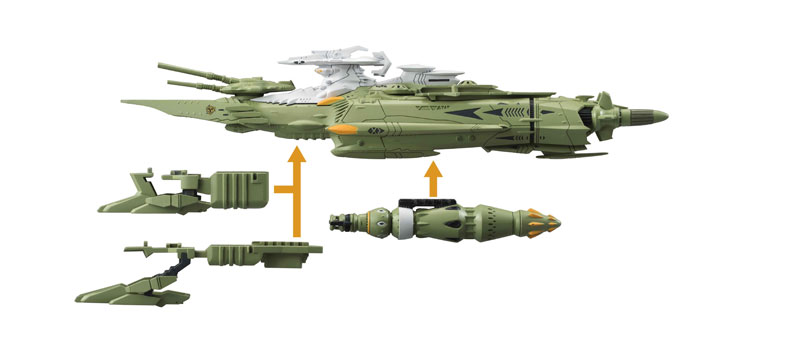 コスモフリートスペシャル 宇宙戦艦ヤマト2202 愛の戦士たち メダルーサ級殲滅型重戦艦-011