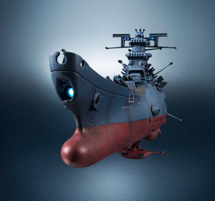 輝艦大全 宇宙戦艦ヤマト2202 1/2000 宇宙戦艦ヤマト 約165mm ABS&PC製 塗装済み可動フィギュア-006