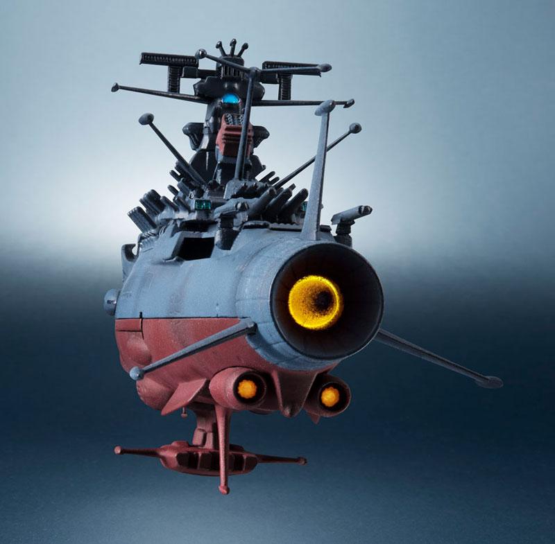 輝艦大全 宇宙戦艦ヤマト2202 1/2000 宇宙戦艦ヤマト 約165mm ABS&PC製 塗装済み可動フィギュア-007