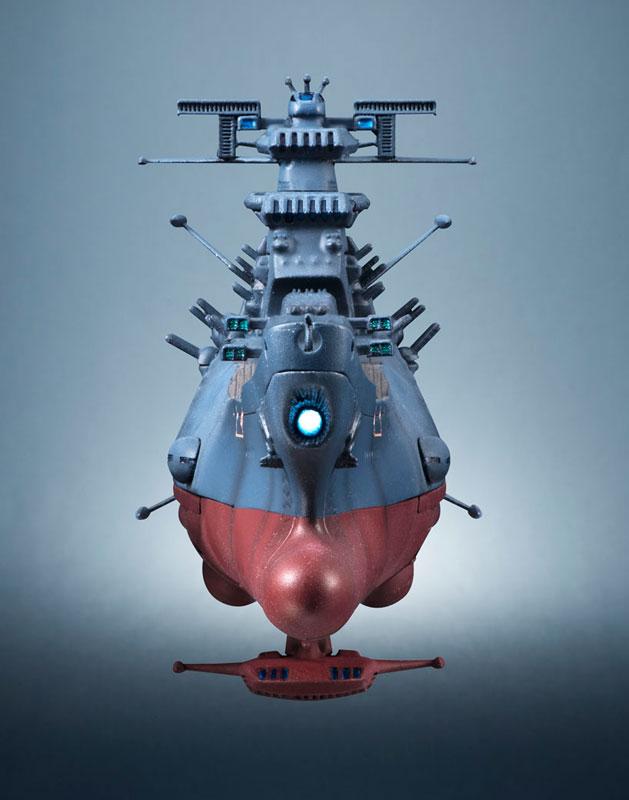 輝艦大全 宇宙戦艦ヤマト2202 1/2000 宇宙戦艦ヤマト 約165mm ABS&PC製 塗装済み可動フィギュア-008