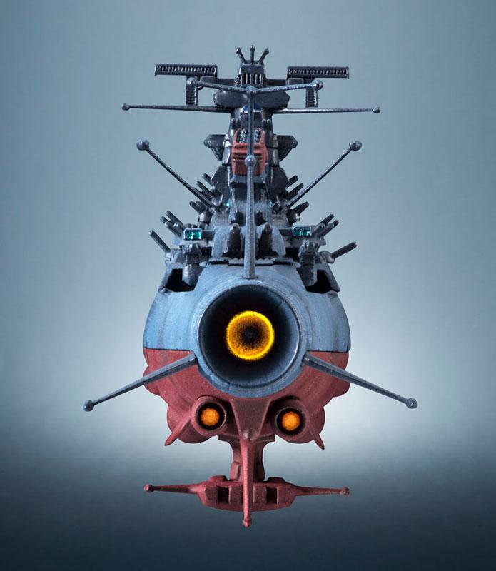 輝艦大全 宇宙戦艦ヤマト2202 1/2000 宇宙戦艦ヤマト 約165mm ABS&PC製 塗装済み可動フィギュア-009