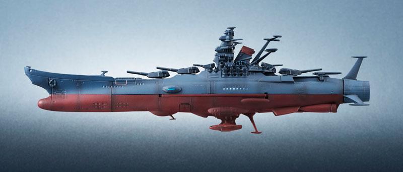 輝艦大全 宇宙戦艦ヤマト2202 1/2000 宇宙戦艦ヤマト 約165mm ABS&PC製 塗装済み可動フィギュア-012