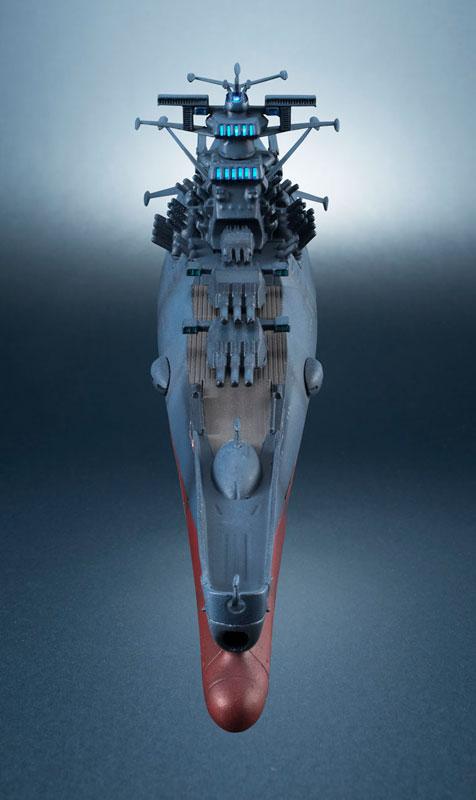輝艦大全 宇宙戦艦ヤマト2202 1/2000 宇宙戦艦ヤマト 約165mm ABS&PC製 塗装済み可動フィギュア-013