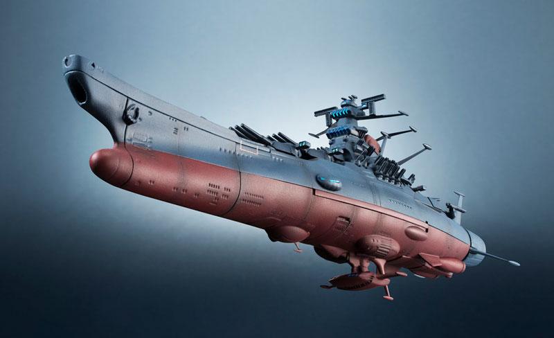 輝艦大全 宇宙戦艦ヤマト2202 1/2000 宇宙戦艦ヤマト 約165mm ABS&PC製 塗装済み可動フィギュア-014