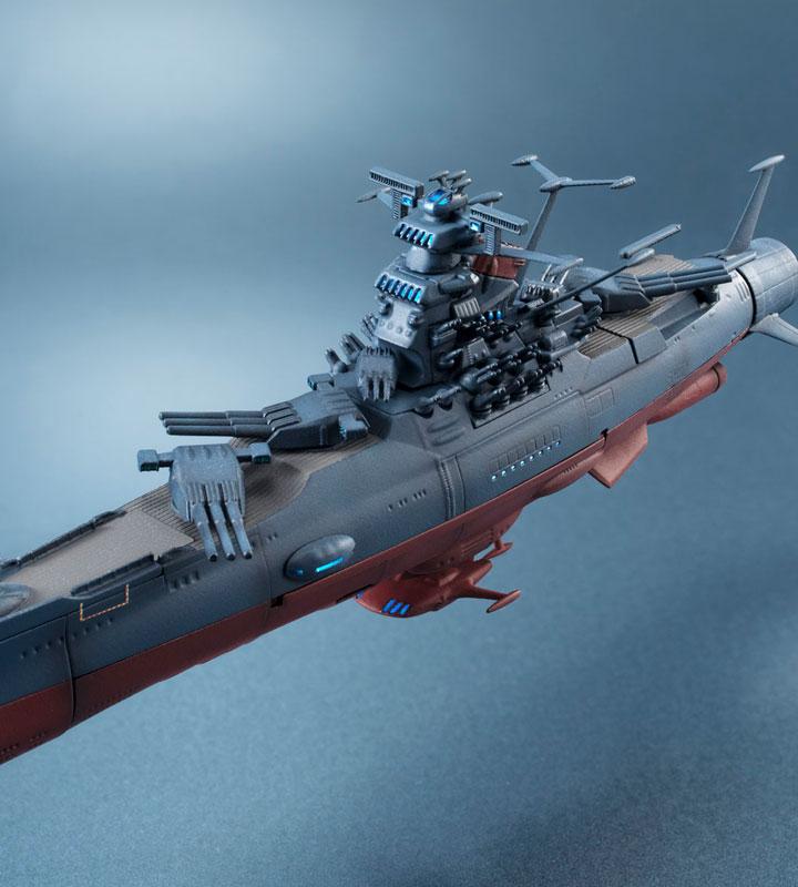 輝艦大全 宇宙戦艦ヤマト2202 1/2000 宇宙戦艦ヤマト 約165mm ABS&PC製 塗装済み可動フィギュア-015