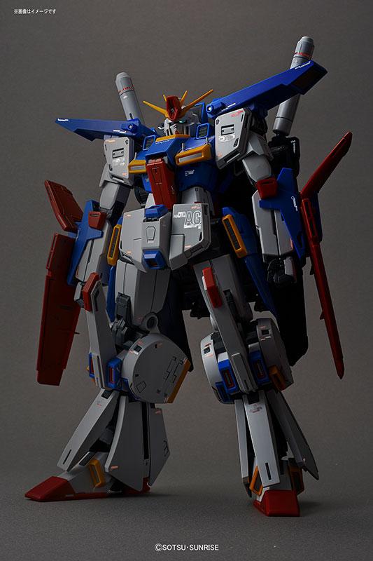 MG 機動戦士ガンダムZZ ダブルゼータガンダム Ver.Ka 1/100スケール-014