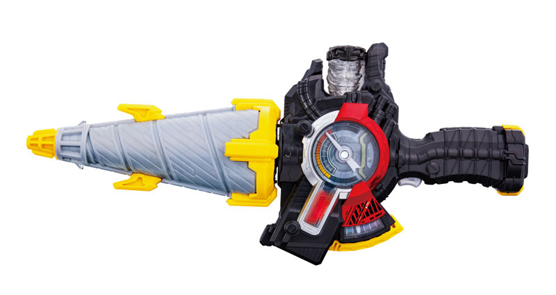 仮面ライダービルド 回転剣銃 DXドリルクラッシャー-002