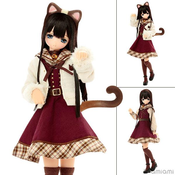 えっくす☆きゅーと ふぁみりー ~meow×meow a・la・mode~ シャム猫 / みあ 完成品ドール