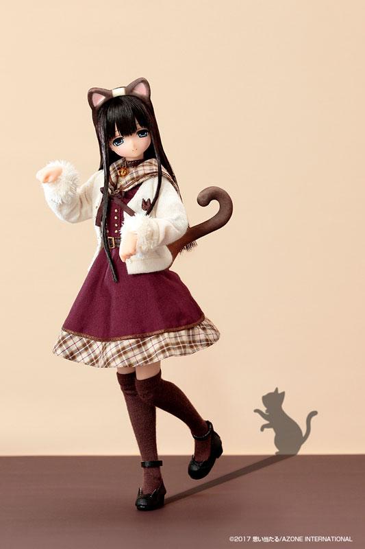 えっくす☆きゅーと ふぁみりー ~meow×meow a・la・mode~ シャム猫 / みあ 完成品ドール-008