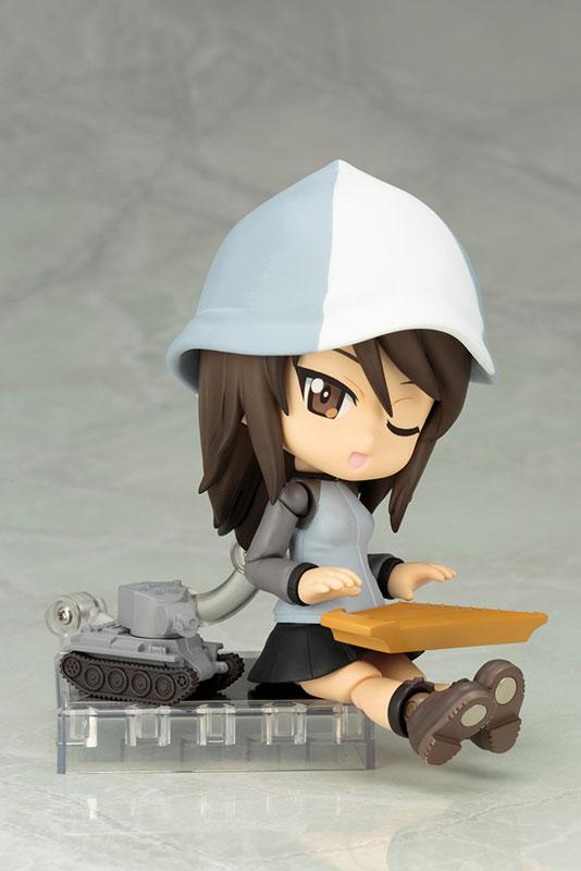 キューポッシュ ガールズ&パンツァー 劇場版 ミカ 可動フィギュア-006