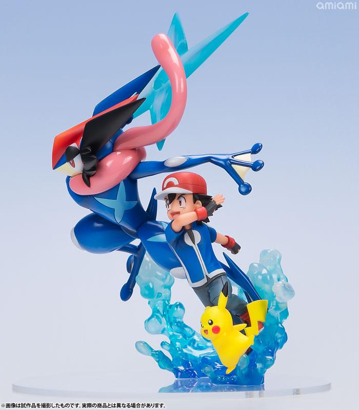 G.E.M.シリーズ ポケットモンスター サトシ&ピカチュウ&サトシゲッコウガ 完成品フィギュア-003