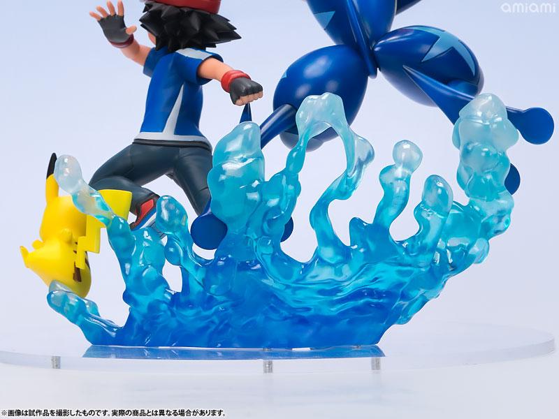 G.E.M.シリーズ ポケットモンスター サトシ&ピカチュウ&サトシゲッコウガ 完成品フィギュア-024