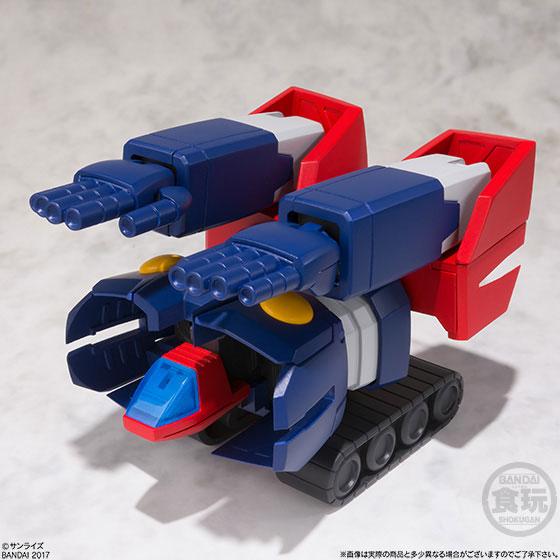 【食玩】スーパーミニプラ 無敵超人ザンボット3 4個入りBOX-003