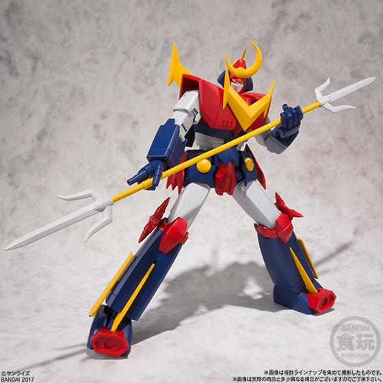 【食玩】スーパーミニプラ 無敵超人ザンボット3 4個入りBOX-008