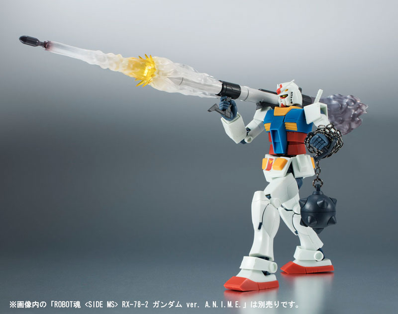ROBOT魂 -ロボット魂- 〈SIDE MS〉 RX-78-1 プロトタイプガンダム ver. A.N.I.M.E.-004