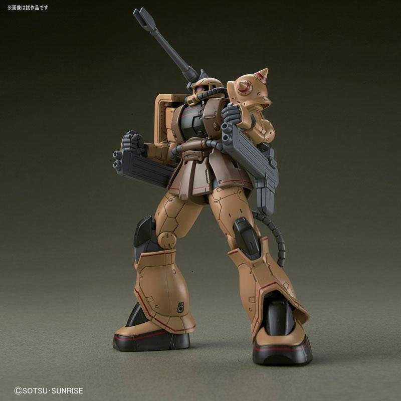 HG 1/144 ザク・ハーフキャノン『機動戦士ガンダムTHE ORIGIN MSD』プラモデル-001