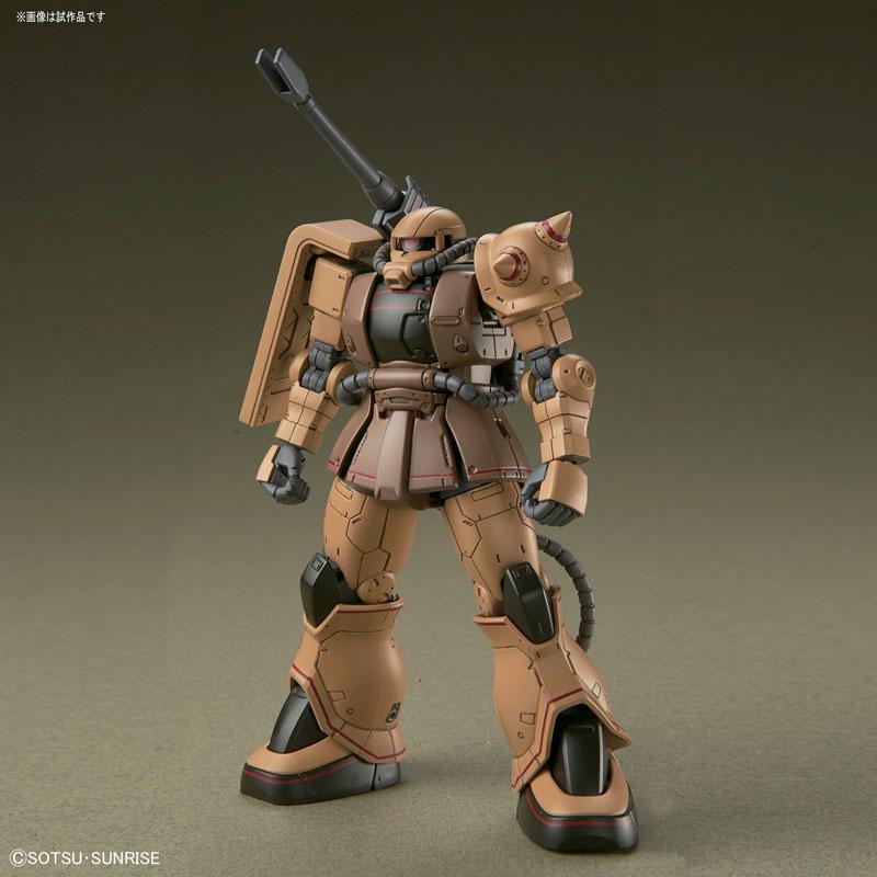 HG 1/144 ザク・ハーフキャノン『機動戦士ガンダムTHE ORIGIN MSD』プラモデル-002