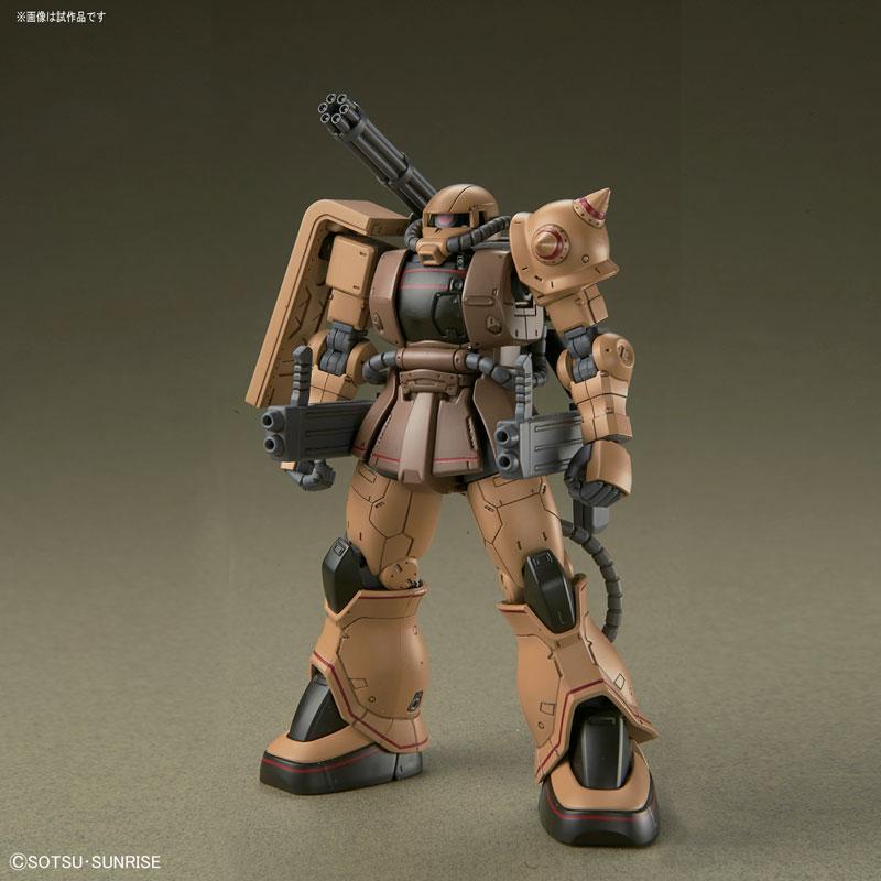 HG 1/144 ザク・ハーフキャノン『機動戦士ガンダムTHE ORIGIN MSD』プラモデル-004