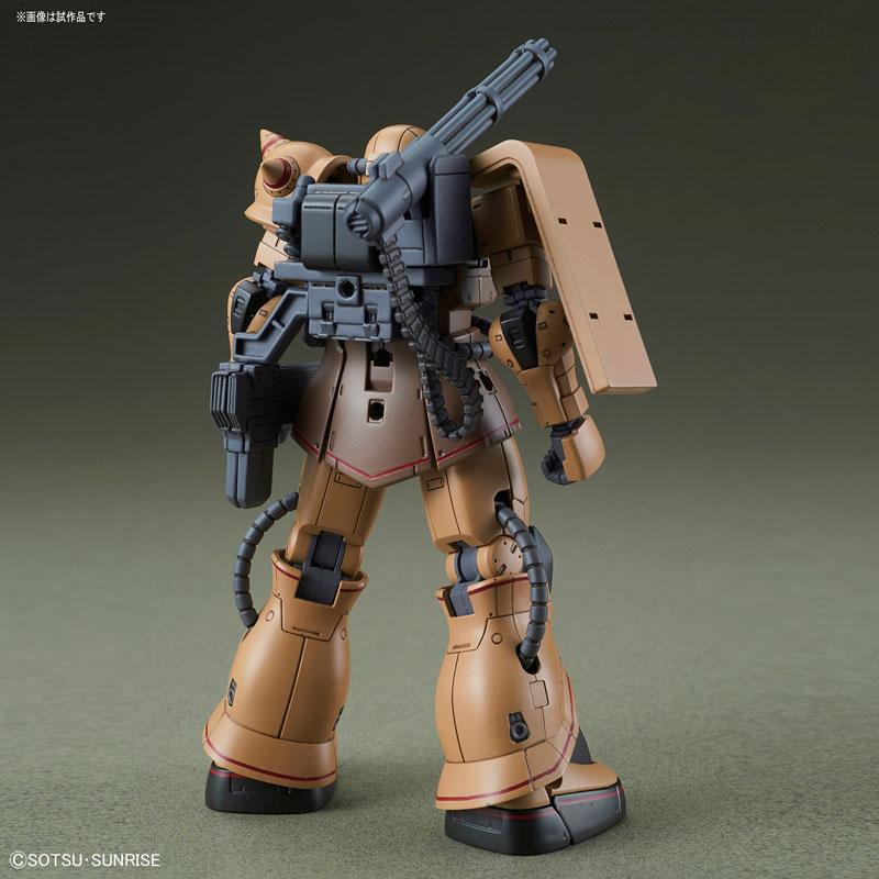 HG 1/144 ザク・ハーフキャノン『機動戦士ガンダムTHE ORIGIN MSD』プラモデル-005