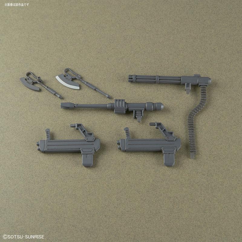 HG 1/144 ザク・ハーフキャノン『機動戦士ガンダムTHE ORIGIN MSD』プラモデル-006