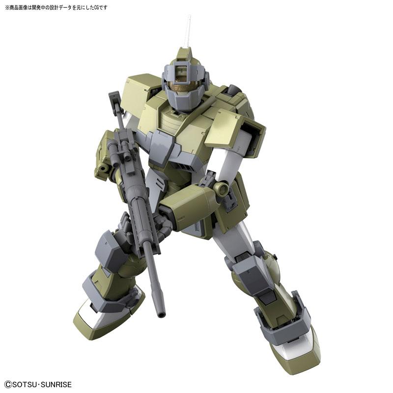 MG 1/100 ジム・スナイパー カスタム 『機動戦士ガンダム MSV』プラモデル-001
