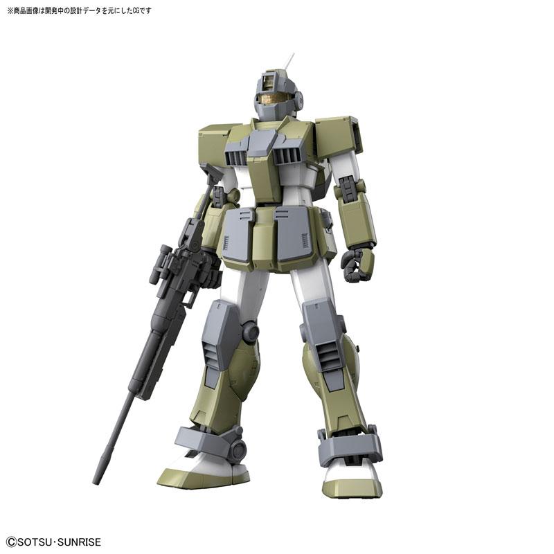 MG 1/100 ジム・スナイパー カスタム 『機動戦士ガンダム MSV』プラモデル-002