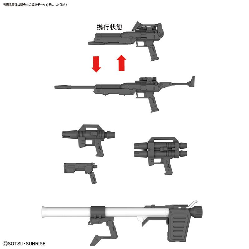 MG 1/100 ジム・スナイパー カスタム 『機動戦士ガンダム MSV』プラモデル-007