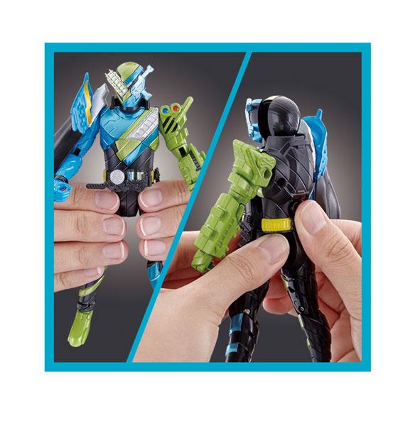 仮面ライダービルド ボトルチェンジライダーシリーズ 07仮面ライダービルド 海賊レッシャーフォーム-008
