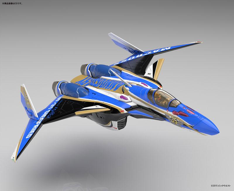 1/72 VF-31Jジークフリード (マクロス35周年塗装機) プラモデル-002