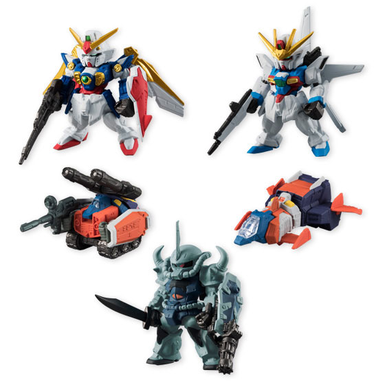 FW GUNDAM CONVERGE SELECTION [LIMITED COLOR] 8個入りBOX