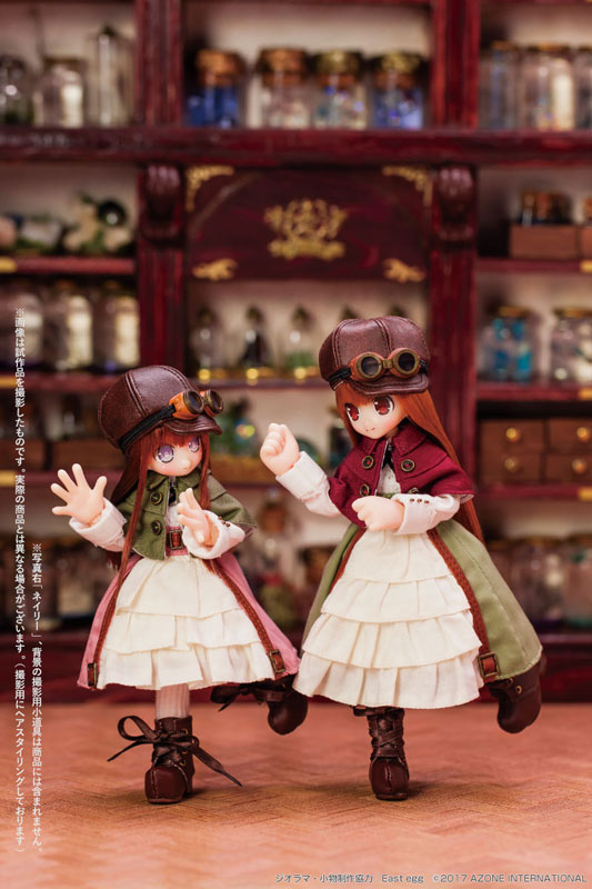 Lil'Fairy ~ちいさなちいさなお手伝いさん~ ルティ 1/12 完成品ドール-015