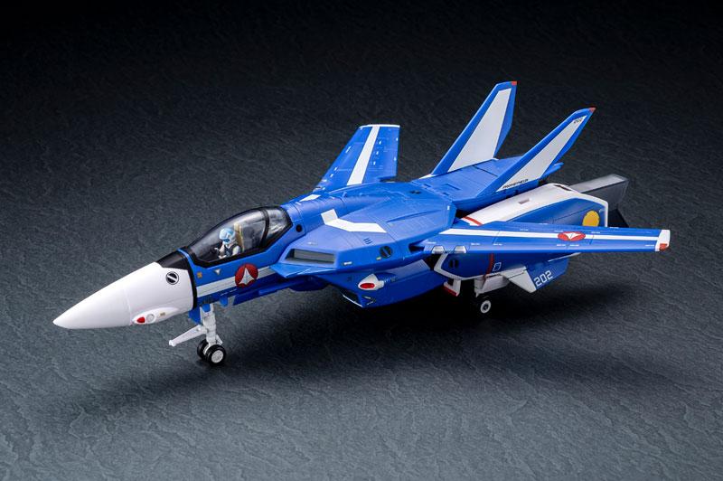 超時空要塞マクロス 1/60完全変形 VF-1J スーパーバルキリー マクシミリアン ジーナス 搭乗機 塗装済み 完成品フィギュア-001