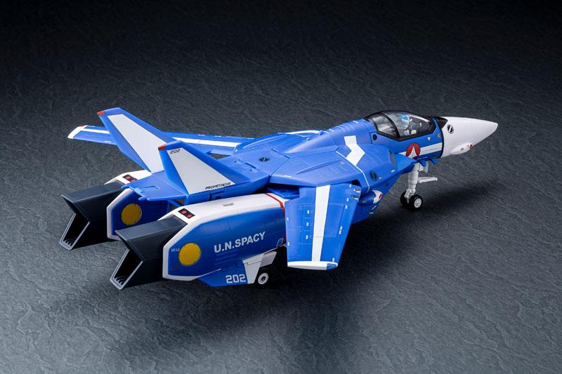 超時空要塞マクロス 1/60完全変形 VF-1J スーパーバルキリー マクシミリアン ジーナス 搭乗機 塗装済み 完成品フィギュア-002