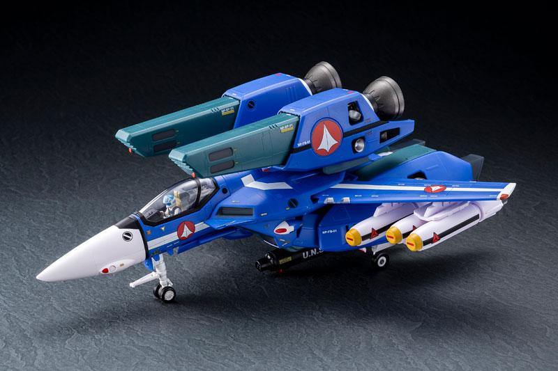 超時空要塞マクロス 1/60完全変形 VF-1J スーパーバルキリー マクシミリアン ジーナス 搭乗機 塗装済み 完成品フィギュア-003