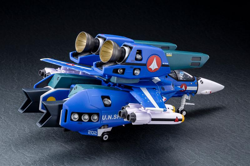 超時空要塞マクロス 1/60完全変形 VF-1J スーパーバルキリー マクシミリアン ジーナス 搭乗機 塗装済み 完成品フィギュア-004