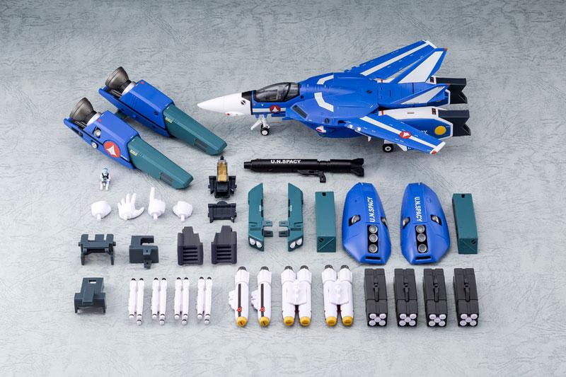 超時空要塞マクロス 1/60完全変形 VF-1J スーパーバルキリー マクシミリアン ジーナス 搭乗機 塗装済み 完成品フィギュア-010