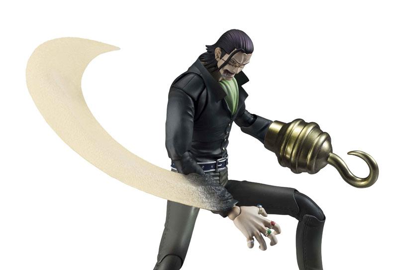ヴァリアブルアクションヒーローズ ONE PIECE クロコダイル アクションフィギュア-008