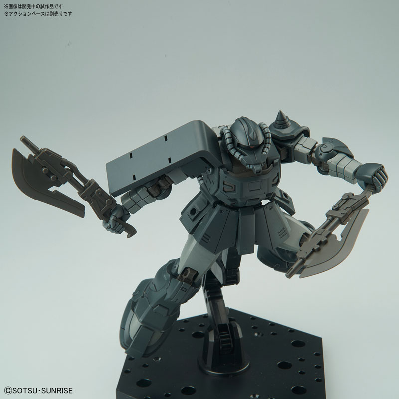 HG 1/144 アクト・ザク(キシリア部隊機) プラモデル-004