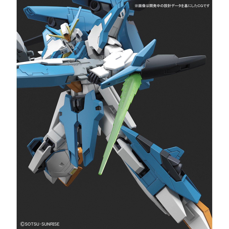 【Amazon.co.jp限定】 HGBF ガンダムビルドファイターズ バトローグ A-Zガンダム 1/144スケール 色分け済みプラモデル-005