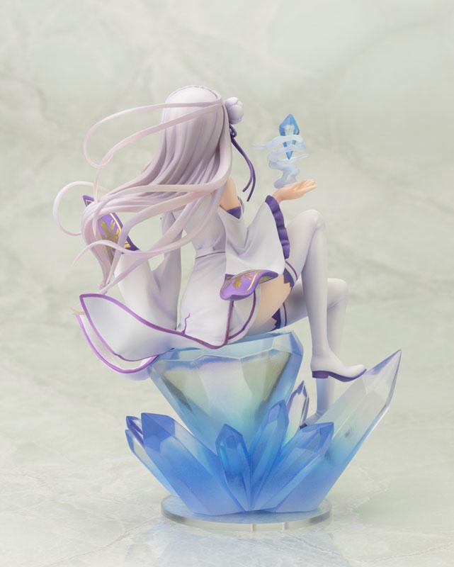 Re:ゼロから始める異世界生活 エミリア 1/8 完成品フィギュア-003