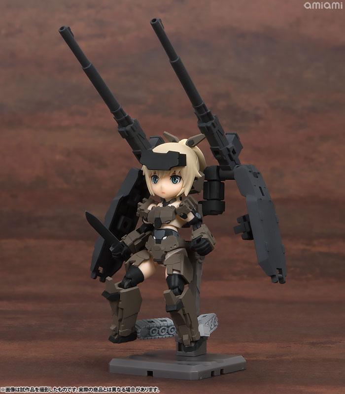 【再販】デスクトップアーミー フレームアームズ・ガール KT-321f 轟雷シリーズ 3個入りBOX-004
