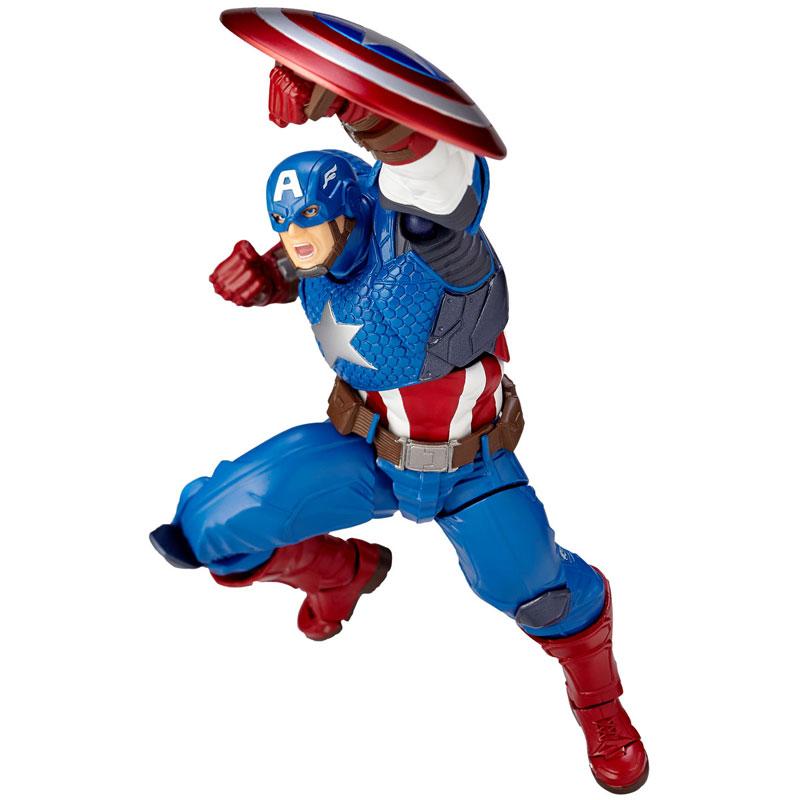 フィギュアコンプレックス アメイジング・ヤマグチ No.007 Captain America (キャプテン・アメリカ)-001