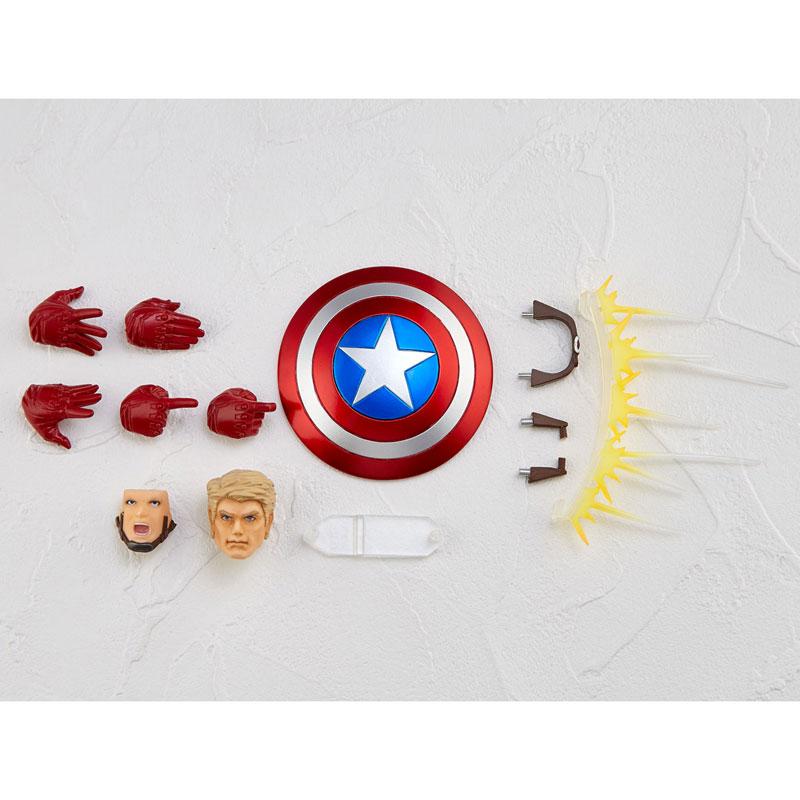 フィギュアコンプレックス アメイジング・ヤマグチ No.007 Captain America (キャプテン・アメリカ)-002