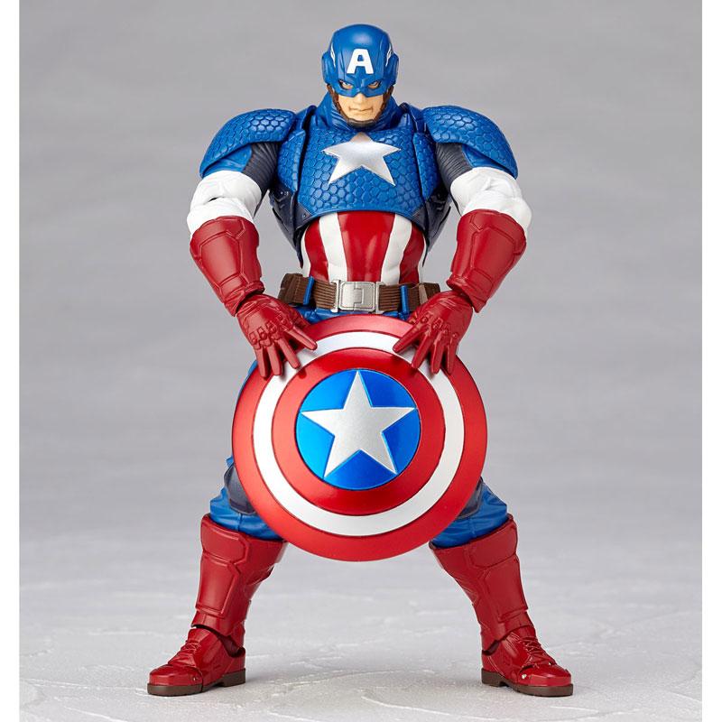 フィギュアコンプレックス アメイジング・ヤマグチ No.007 Captain America (キャプテン・アメリカ)-004