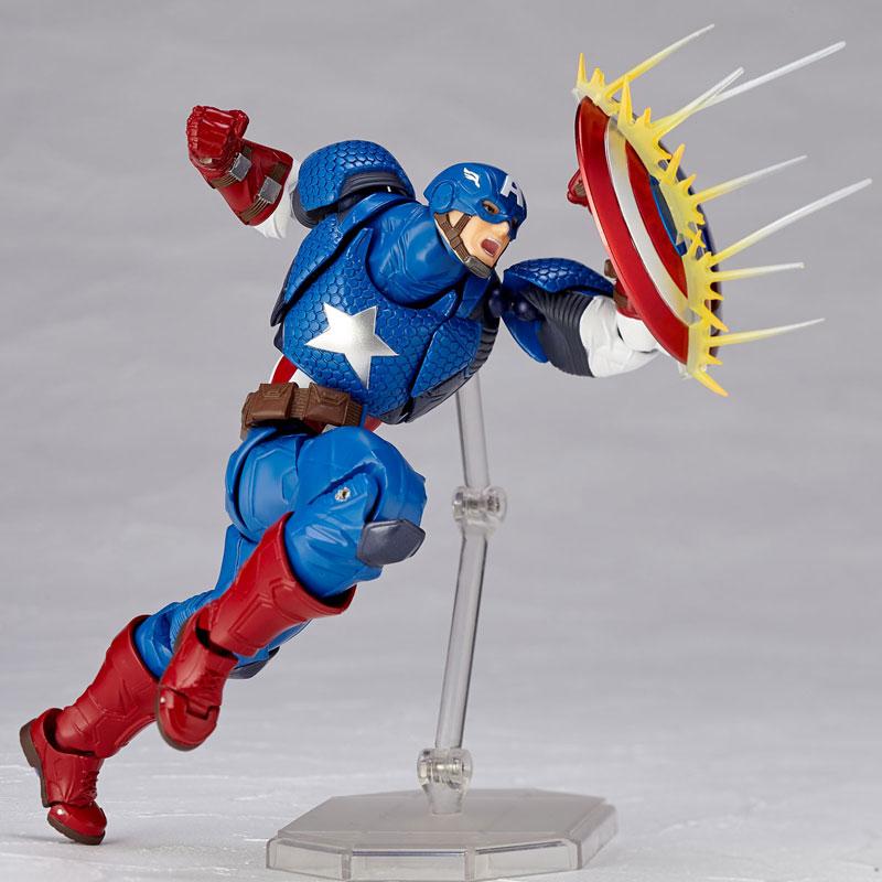 フィギュアコンプレックス アメイジング・ヤマグチ No.007 Captain America (キャプテン・アメリカ)-005