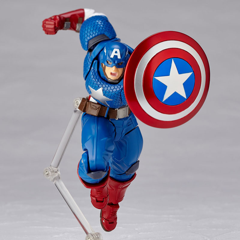 フィギュアコンプレックス アメイジング・ヤマグチ No.007 Captain America (キャプテン・アメリカ)-006